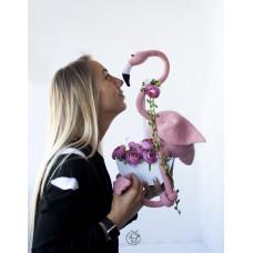 Большой Фламинго крючком