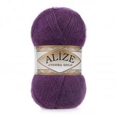 Ализе Ангора голд 111 фиолетовый