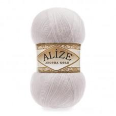 Ализе Ангора голд 168 белая зима