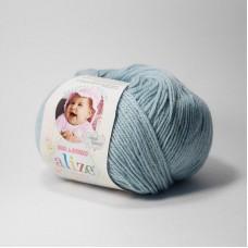 Пряжа Alize Baby wool 114 мята