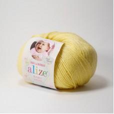 Пряжа Alize Baby wool 187 лимонный