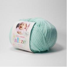 Пряжа Alize Baby wool 19 водяная зелень