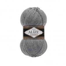 Ализе Ланаголд классик 21 серый меланж