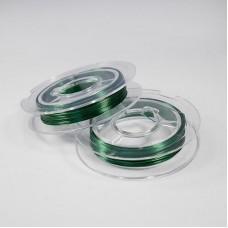 Проволка 0,3мм 10м зеленый