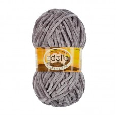 Adelia Dolly velour 10 серый