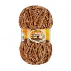 Adelia Dolly velour 20 св.коричневый