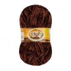 Adelia Dolly velour 24 коричневый