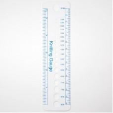 Линейка для измерения диаметра спиц