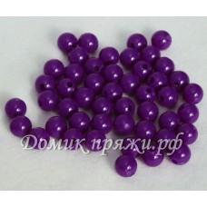Бусины 10 мм фиолет
