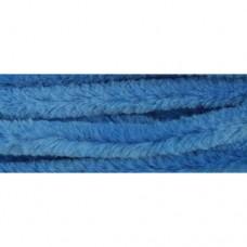 Синель-проволока 12ммх30см голубая