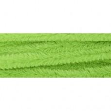 Синель-проволока 12ммх30см св.зеленый