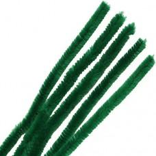 Синель-проволока 12ммх30см зеленый