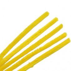 Синель-проволока 12ммх30см желтый