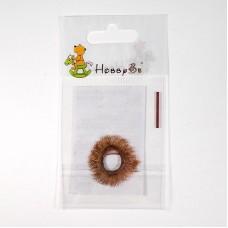 Ресницы для игрушек 8мм 20см коричневый
