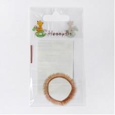 Ресницы для кукол и игрушек 5 мм 20 см св.русый