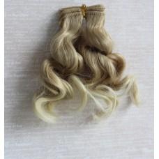 Трессы волна 15 см русый-блонд В15-02 два цвета