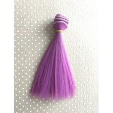 Трессы прямые 15 см Фиолетовый П15-36