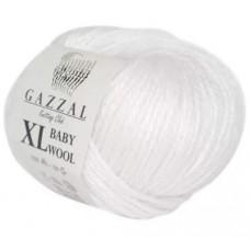 Газзал Беби вул XL 801- белый