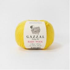 Gazzal Baby wool 812 желтый