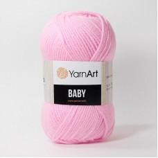 Ярнарт Беби 10119 ярко-розовый