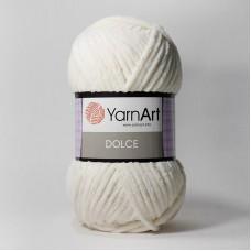 Yarnart Dolce цвет 745 молочный