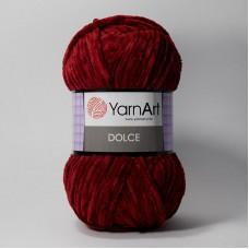 Yarnart Dolce цвет 752 вишнёвый