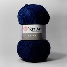 Yarnart Dolce цвет 756 синий