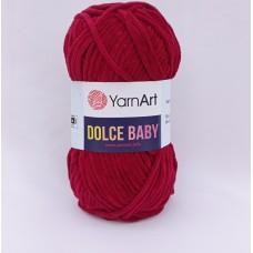 Yarnart Dolce baby 752 вишня