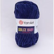 Yarnart Dolce baby 756 синий