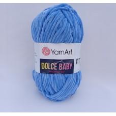 Yarnart Dolce baby 777 голубой