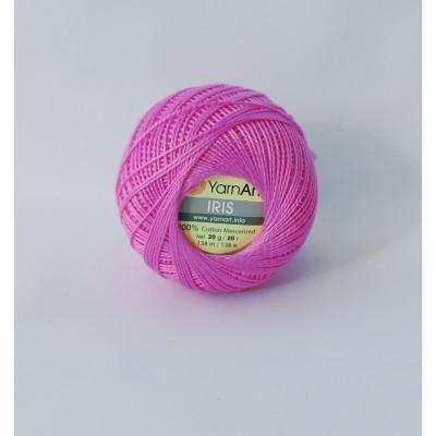 Пряжа Yarnart Iris 915 розовый