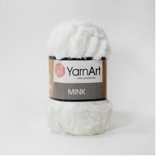 Yarnart Mink 330 белый