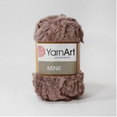 Yarnart Mink 332 светло-коричневый