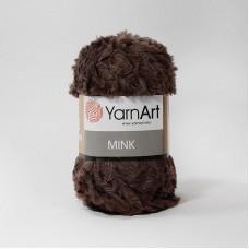 Yarnart Mink 333 коричневый