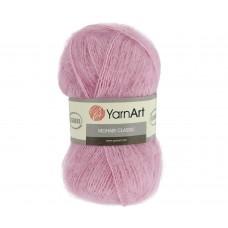 Yarnart Mohair 127 розовый