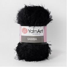Yarnart Samba 02 черный