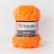Yarnart Samba 07 оранжевый