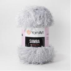 Yarnart Samba 10 серый