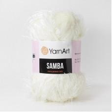 Yarnart Samba 830 кремовый