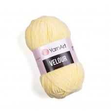 Yarnart Velour 844 светло-желтый