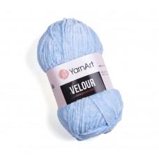 Yarnart Velour 851 светло-голубой