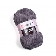 Yarnart Velour 858 серый