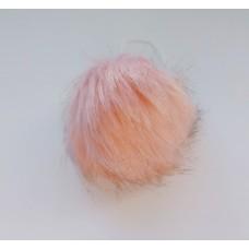 Помпон искусственный 10 см персик П 18