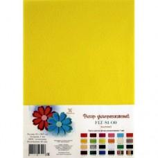 Фетр S1-09 1мм 21*29,7см желтый