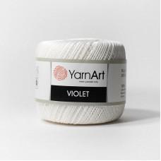 Yarnart Violet 003 белый