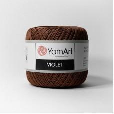 Yarnart Violet 0077 коричневый