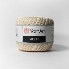 Yarnart Violet 6194 кремовый