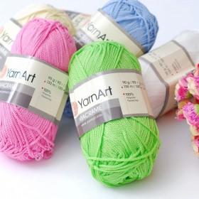 Yarn Art Macrame обзор пряжи